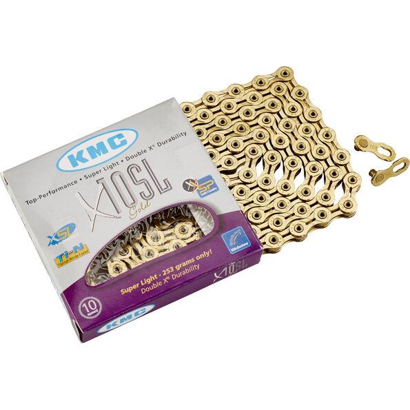 KMC X-10 SL Kette gold