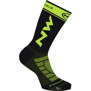 Northwave Extreme Light Pro Socks black/lime fluo black/lime fluo
