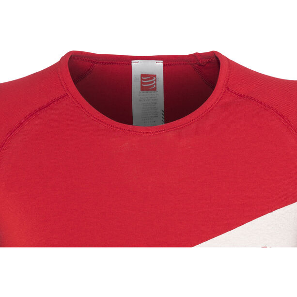 Compressport Casual Postural T-Shirt Athlete Women Red red
