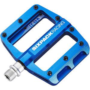 Sixpack Icon Mini Pedale blue blue