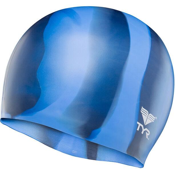 TYR Silicone Cap blue