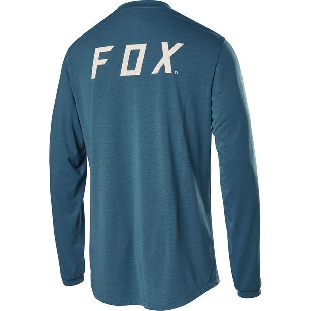 Fox Ranger Dri-Release Langarm Trikot Herren aqua