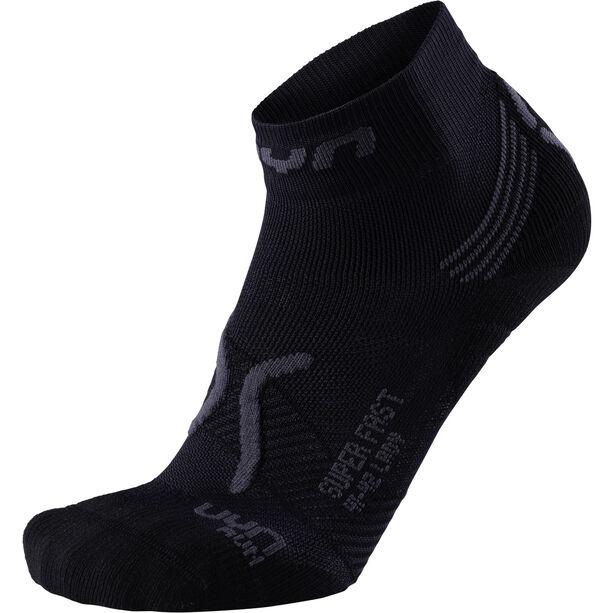 UYN Run Super Fast Socks Damen black/anthracite