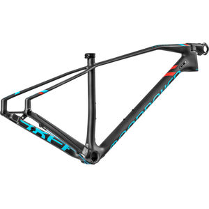 Mondraker Podium Carbon RR 29 Frameset Carbon/Light Blue/Flame Red