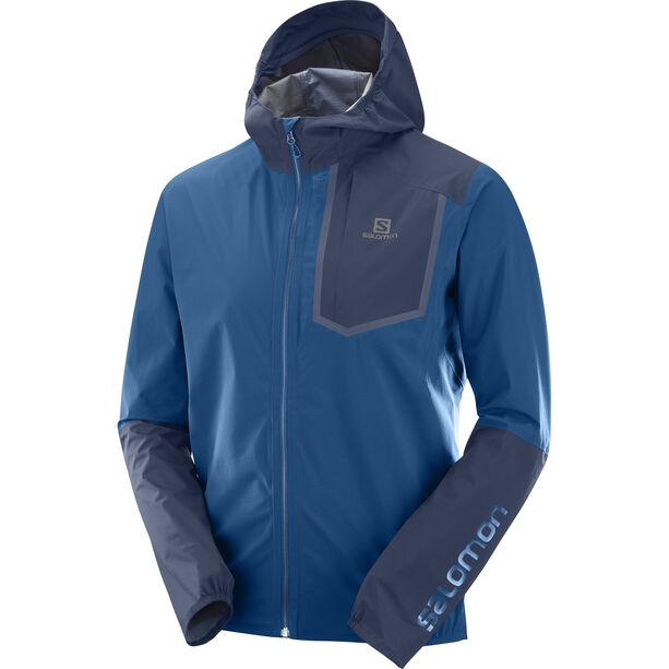Salomon Bonatti Pro WP Jacket Herren poseidon/night sky