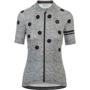AGU Essential Dot Shortsleeve Jersey Damen grey/black grey/black