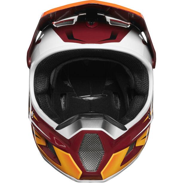 Fox Rampage Comp Reno Full Face Helmet Herren cardinal