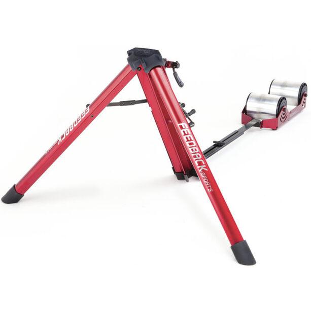 Feedback Sports Omnium IPR-110 Rollentrainer inkl. Tasche rot