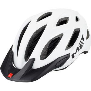 MET Crossover Helm white white