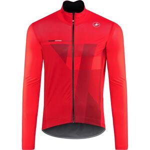 Castelli Pro Fit Light Rain Jacket Herren red red