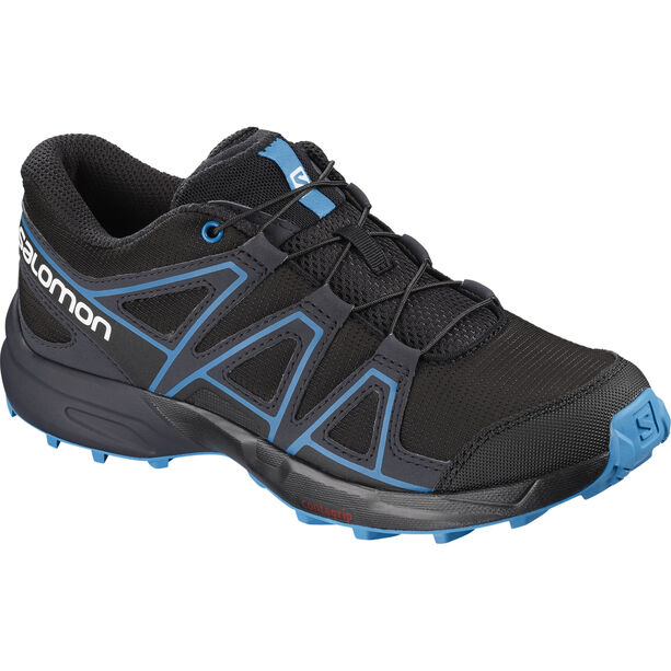Salomon Speedcross Shoes Kinder black/graphite/hawaiian surf