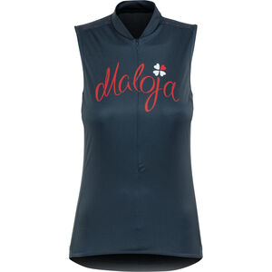 Maloja PortaM. Sleeveless Bike Jersey Damen mountain lake mountain lake