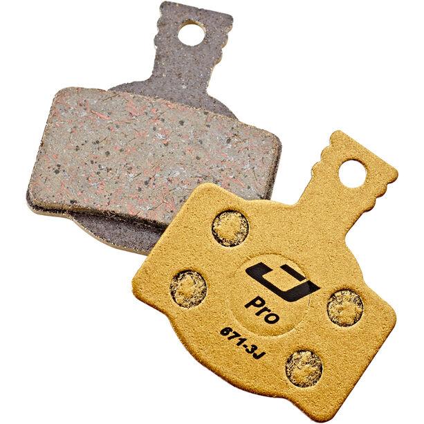 Jagwire Pro Semi-Metallic Bremsbeläge für Magura MT8/MT6/MT4/MT2 1 Paar gold