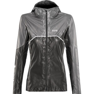 GORE WEAR R7 Gore-Tex Shakedry Trail Hooded Jacket Damen black/lava grey black/lava grey
