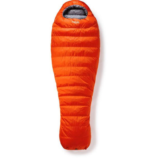 Rab Alpine Pro 800 Sleeping Bag XL Herren firecracker/steel