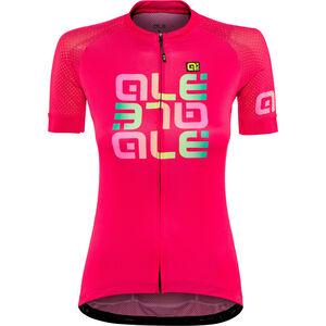 Alé Cycling Solid Mirror SS Jersey Damen gerbera gerbera