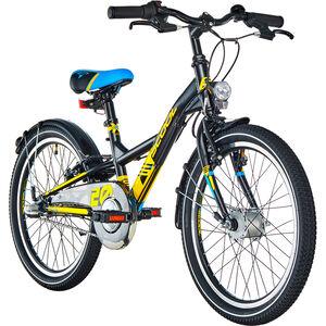s'cool XXlite 20 3-S steel Black/Yellow Matt bei fahrrad.de Online