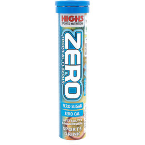 High5 Electrolyte Sports Drink Zero Tabs 20 Stück Tropical