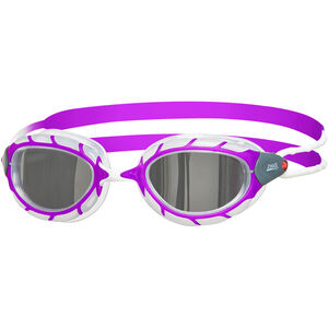 Zoggs Predator Mirror Goggles Kinder purple/white/mirror purple/white/mirror