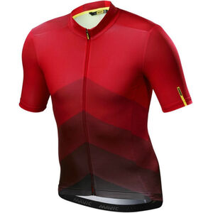 Mavic Cosmic Gradiant SS Jersey Herren red red