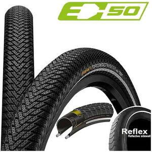 "Continental Top Contact Winter II Premium Faltreifen 26x2.20"" Reflex black black"