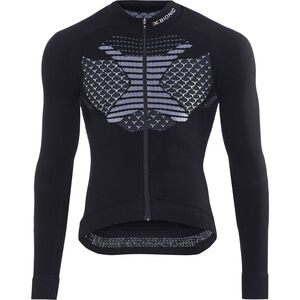 X-Bionic Twyce Fahrrad Trikot LS Herren black/white black/white