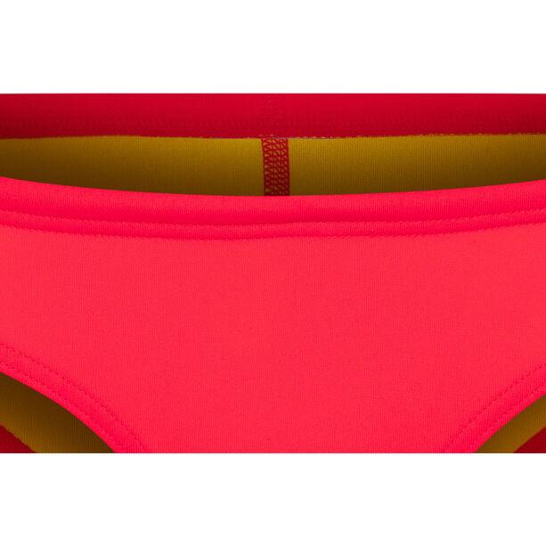 arena Unique Brief Damen fluo red-yellow star