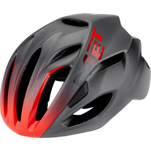 MET Rivale Helm black/shaded red black/shaded red