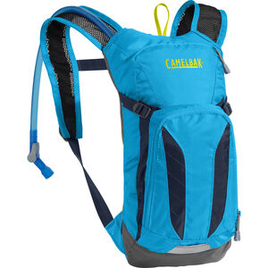 CamelBak Mini M.U.L.E. Hydration Pack 1,5l Kinder atomic blue/navy blazer atomic blue/navy blazer