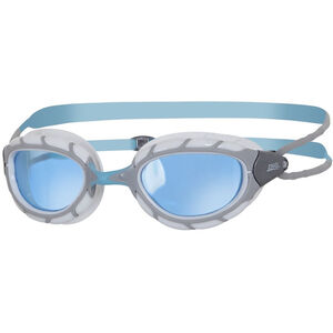 Zoggs Predator Brille silver/blue/tint silver/blue/tint