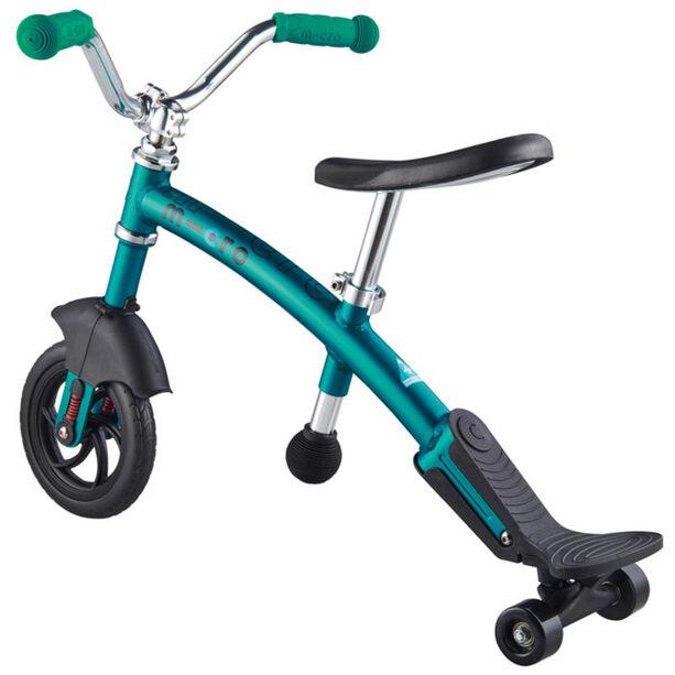 Micro G-Bike Chopper Deluxe Laufrad Kinder aqua