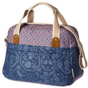 Basil Bohème-Carry Gepäckträger Tasche 18l indigo