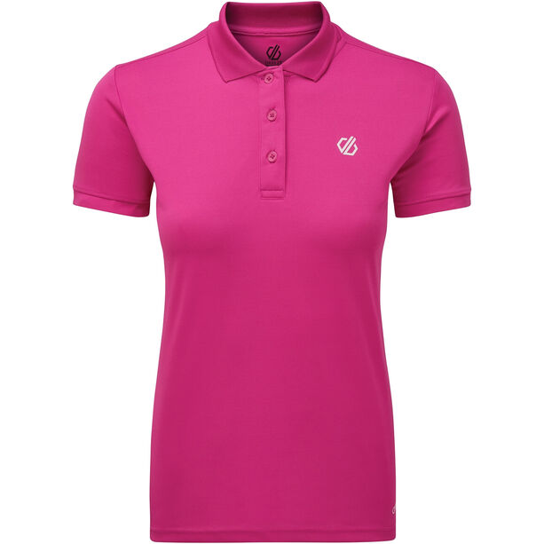 Dare 2b Set Forth Polo Damen active pink