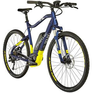 HAIBIKE SDURO Cross 7.0 2. Wahl Herren blau/gelb/silber matt blau/gelb/silber matt
