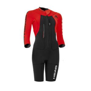 Head Swimrun Rough Shorty Suit Women Black-Red bei fahrrad.de Online