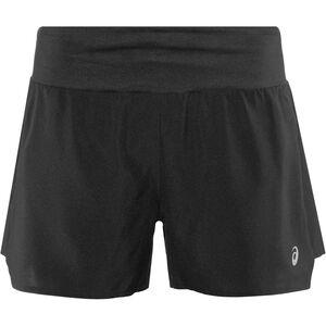 "asics 3,5"" Shorts Damen performance black performance black"