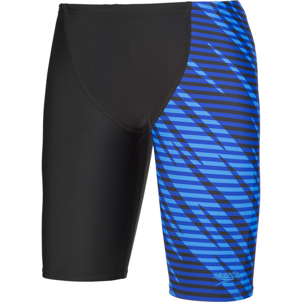 speedo Allover Panel V Cut Jammers Jungs