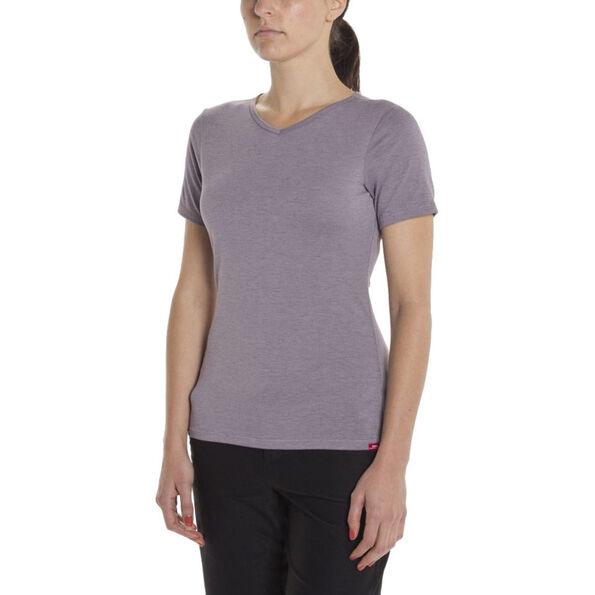 Giro Mobility T-Shirt V-Neck Damen grey ridge heather