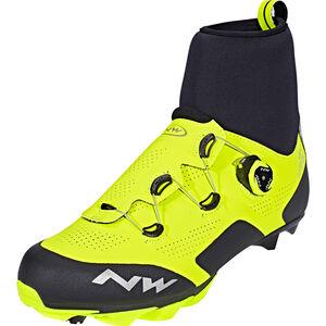 Northwave Raptor Arctic GTX Shoes Performance Line yellow fluo/black