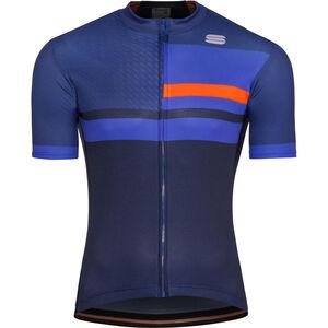 Sportful Team 2.0 Drift Jersey Herren twilight blue/blue cosmic/orange sdr twilight blue/blue cosmic/orange sdr