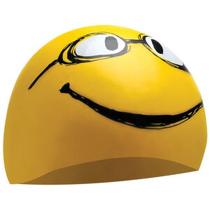 TYR Have A Nice Day Swimming Cap yellow yellow