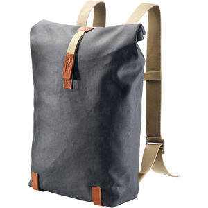 Brooks Pickwick Canvas Backpack 26l grey/honey