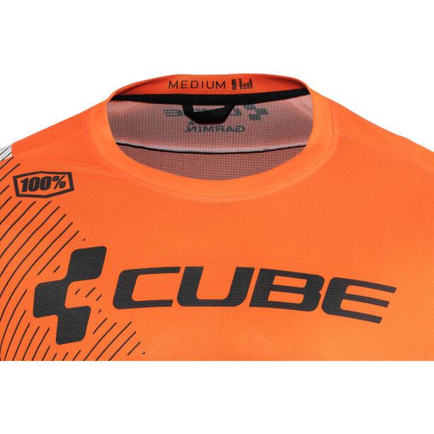 Cube Edge Rundhalstrikot kurzarm Herren action team