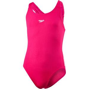 speedo Essential Endurance+ Medalist Swimsuit Mädchen electric pink electric pink