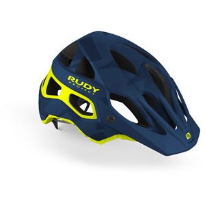 Rudy Project Protera Helmet blue camo/yellow fluo blue camo/yellow fluo