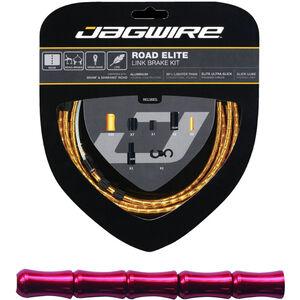 Jagwire Road Elite Link Bremszugset rot rot