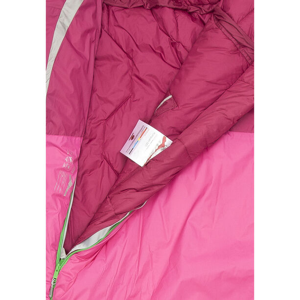 Mammut Kompakt MTI 3-Season Sleeping Bag 185cm Damen pink-dark pink