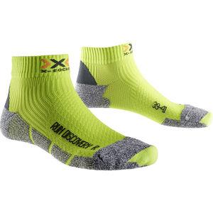 X-Socks Run Discovery Socks Men New Green Lime/Grey Mouliné