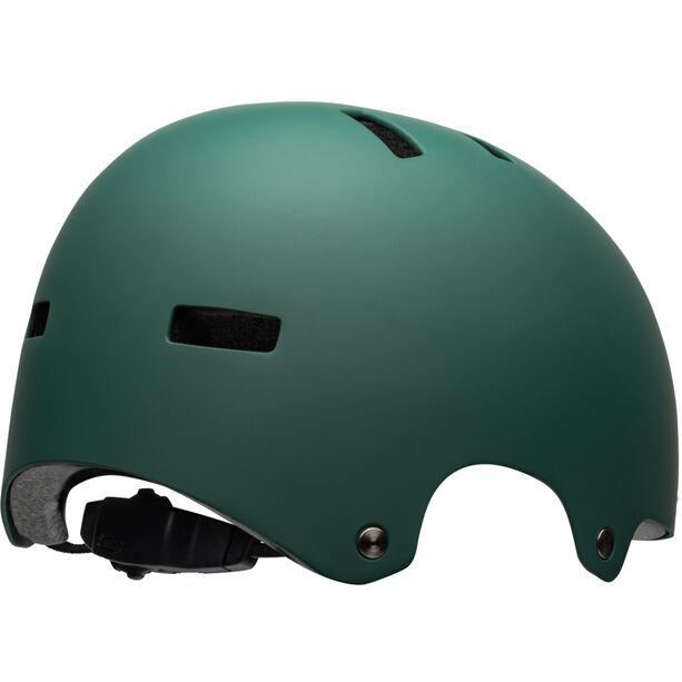 Bell Local Helmet matte green/black scull