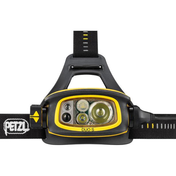 Petzl Duo S Stirnlampe gelb